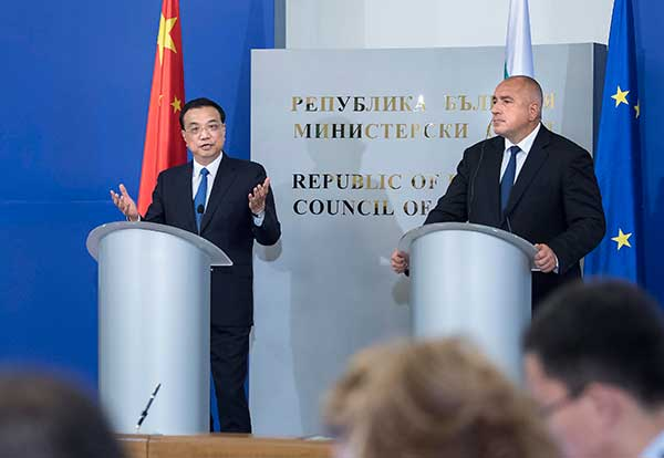 China, Bulgaria to enhance bilateral relations:null