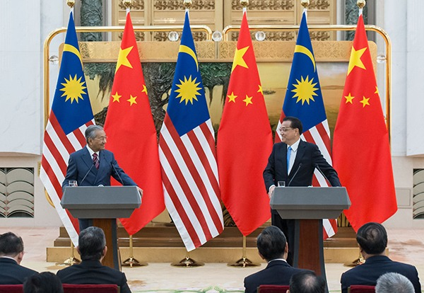 China, Malaysia vow to advocate free trade:null