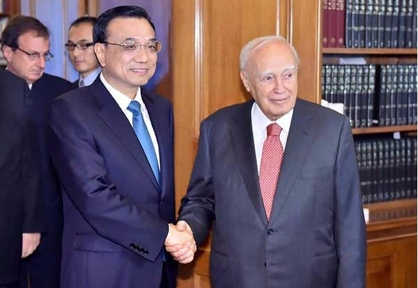 Premier Li: China seeks stronger trade, investment ties with Greece:null