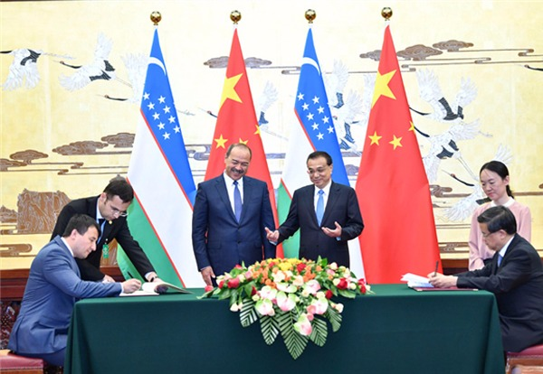 China and Uzbekistan sign multiple cooperation deals:null