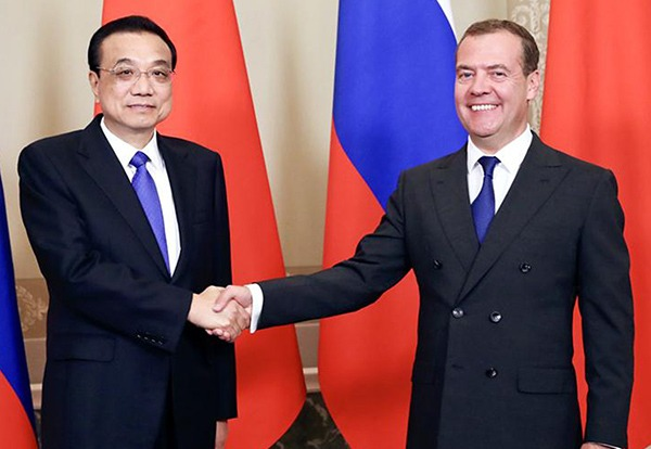 China, Russia to double trade volume, intensify cooperation:null