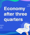 Economy after three quarters:3