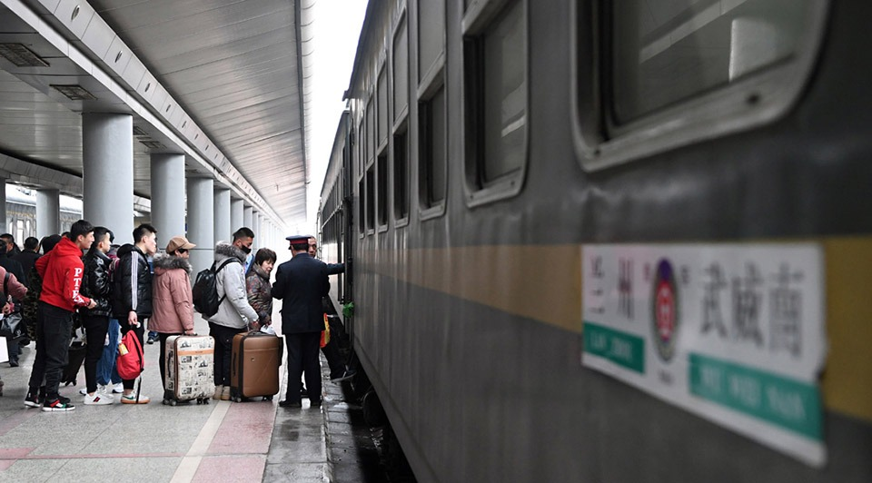 Ordinary train offers passengers alternative choice to travel at cheap fare in Gansu:3
