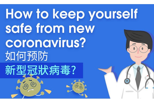 How to keep yourself safe from new coronavirus?:null