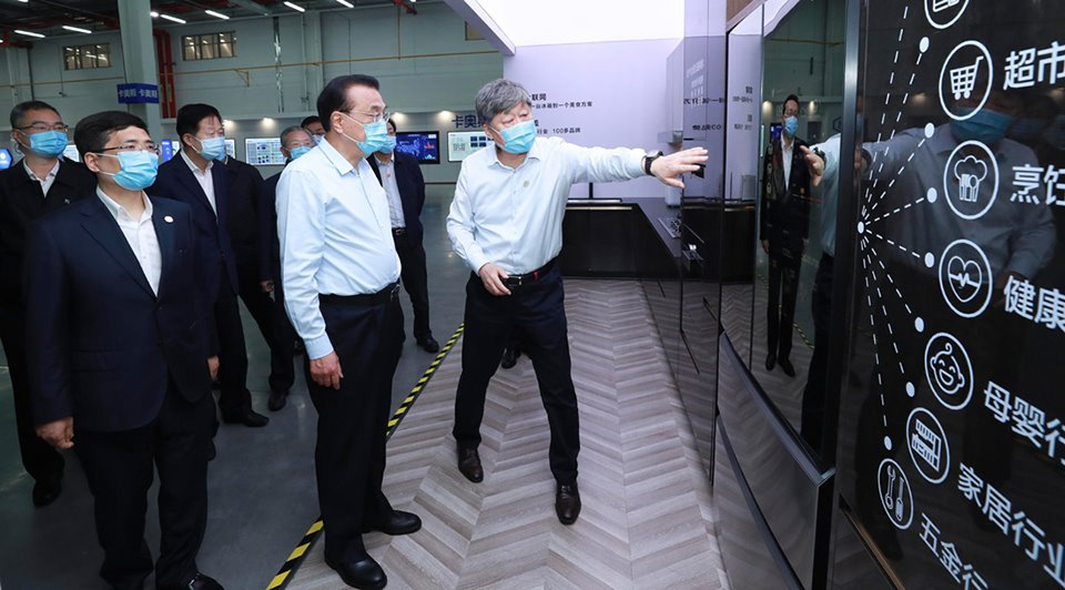 Premier Li makes special trip to enterprise in E China:2